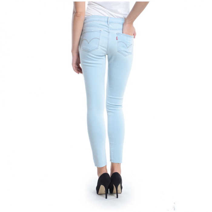 LEVI&39S Women 711 Stretch Skinny Jeans (Pale Blue)