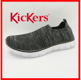 [NEW] KICKERS WOMEN ULTRALIGHT HIGH GRADE FLYKNIT ATHLEISURE SNEAKER READY STOCK
