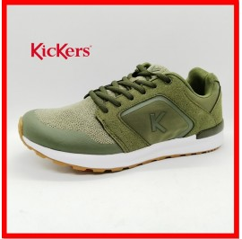 NEW KICKERS MENS CASUAL SPORT ATHLEISURE JOGGER SUEDE LIGHT SNEAKERS READY STOCK