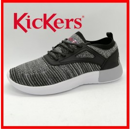 NEW KICKERS MENS CASUAL SPORT HIGH GRADE FLYKNIT ATHLEISURE SNEAKERS READY STOCK
