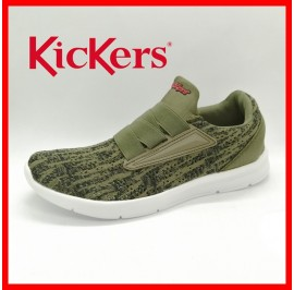 NEW KICKERS MEN ULTRALIGHT SPORT HIGHGRADE FLYKNIT ATHLEISURE SNEAKER READYSTOCK