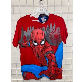 SPIDERMAN ACTION 2 T-SHIRT (RED)